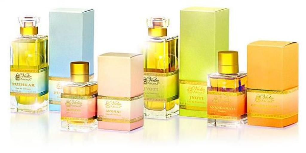 Olejové harmonizační parfémy Vedic Aroma
