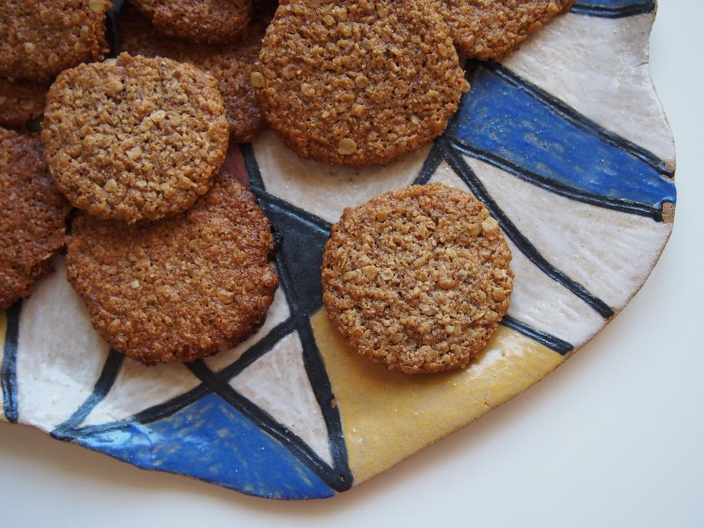 Ovesné sušenky z arašídového másla
