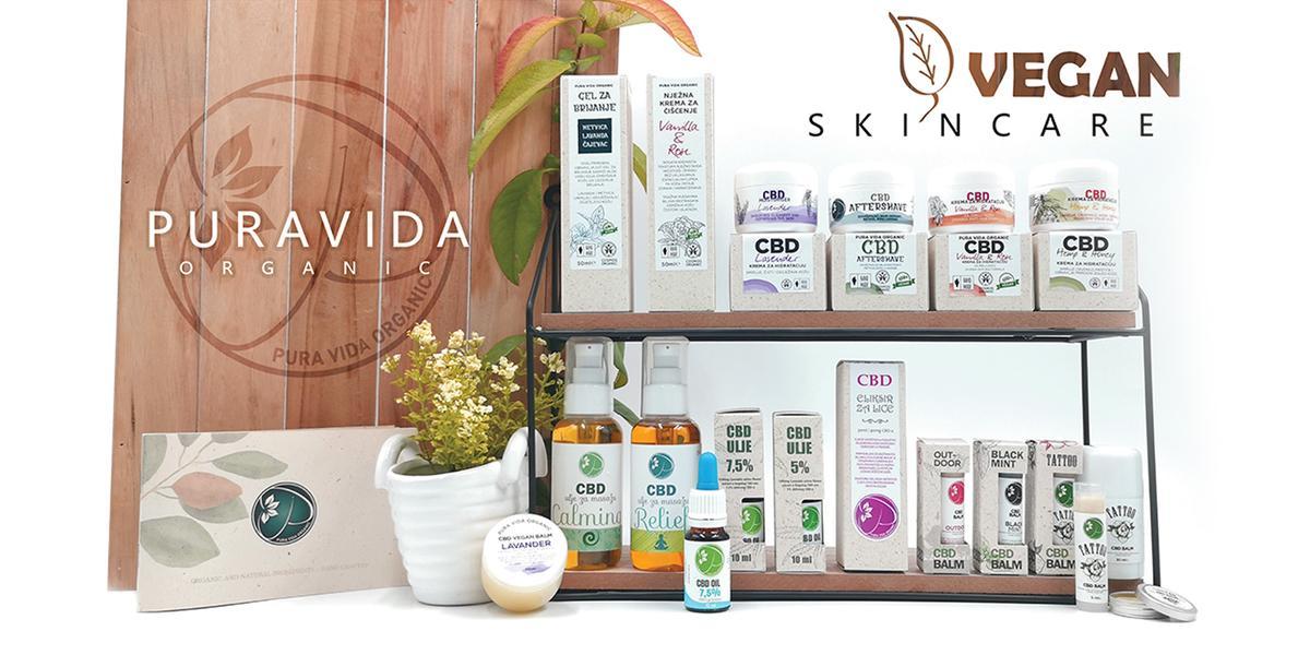 Pura Vida Organic CBD, konopná kosmetika, CBD kosmetika, CBD oleje