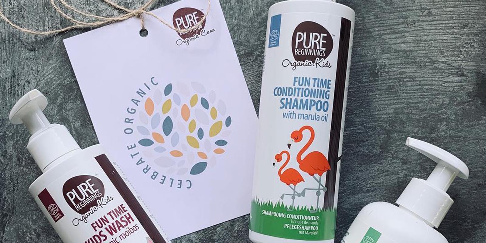 Produkty Pure Beginnings se štítkem