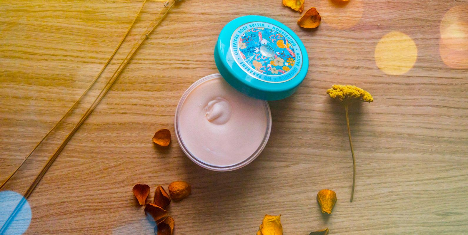 Rakytníkové máslo plné vitaminů a něžné péče