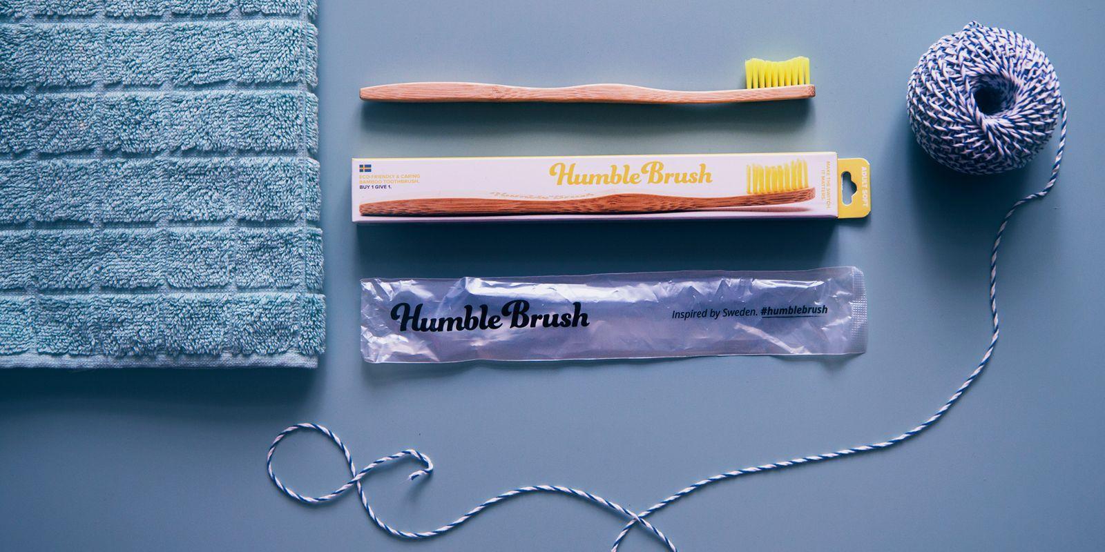 Recenze: Bambusový kartáček na zuby Humble Brush