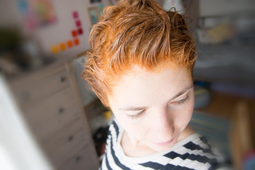 Recenze: Barva na vlasy (medium golden blond) od Hair Wonder