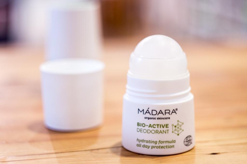 Recenze: Bioaktivní deodorant Mádara