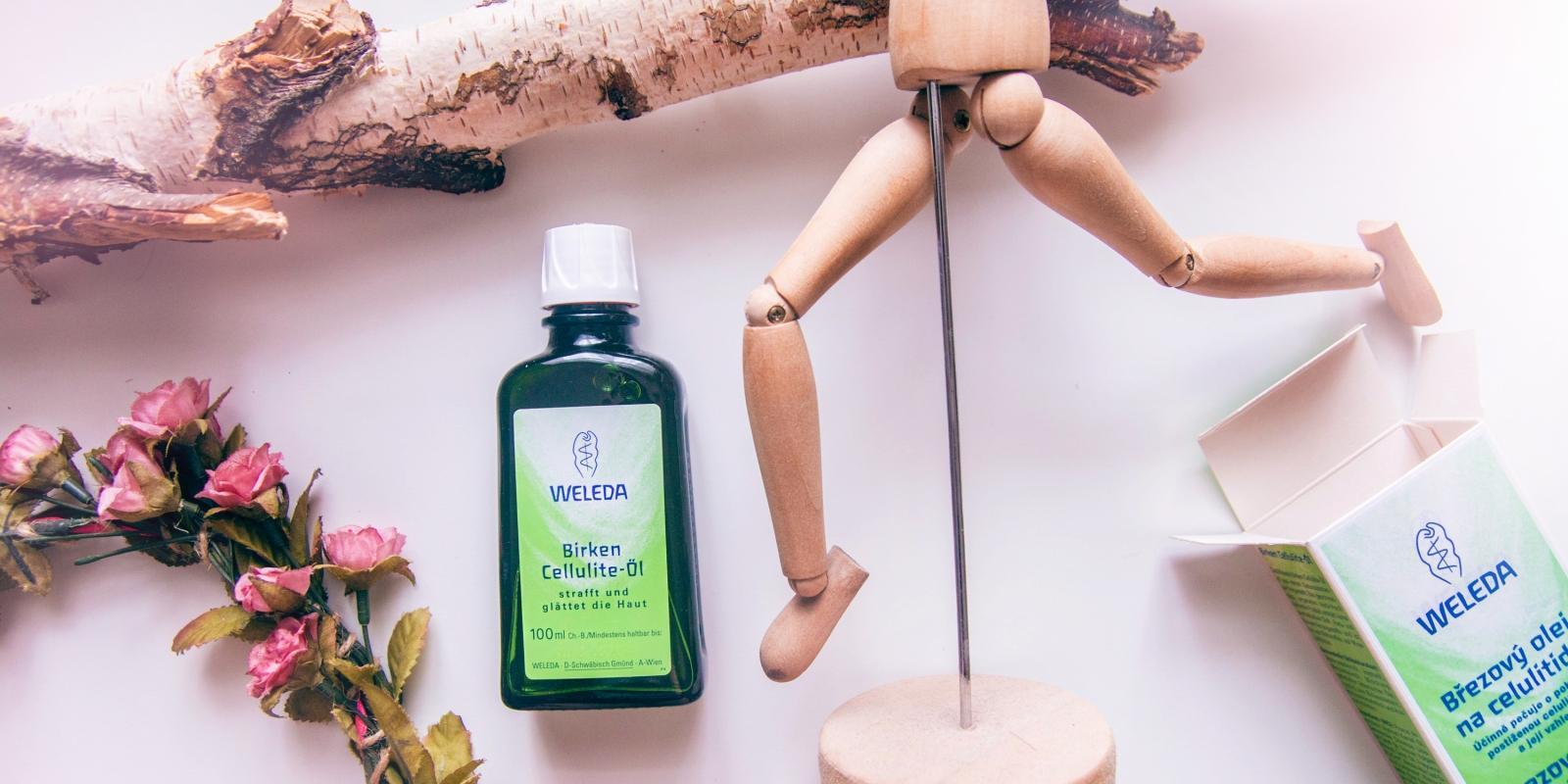 Recenze: Březový olej na celulitidu Weleda