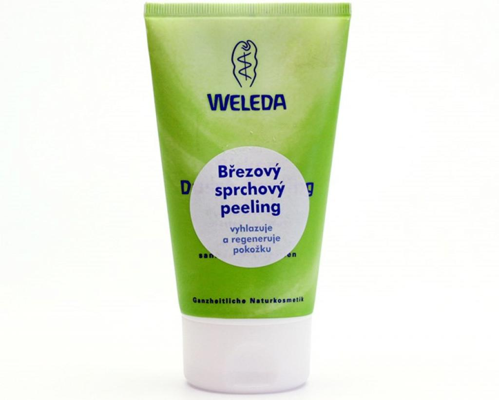 Recenze: Březový sprchový peeling Weleda