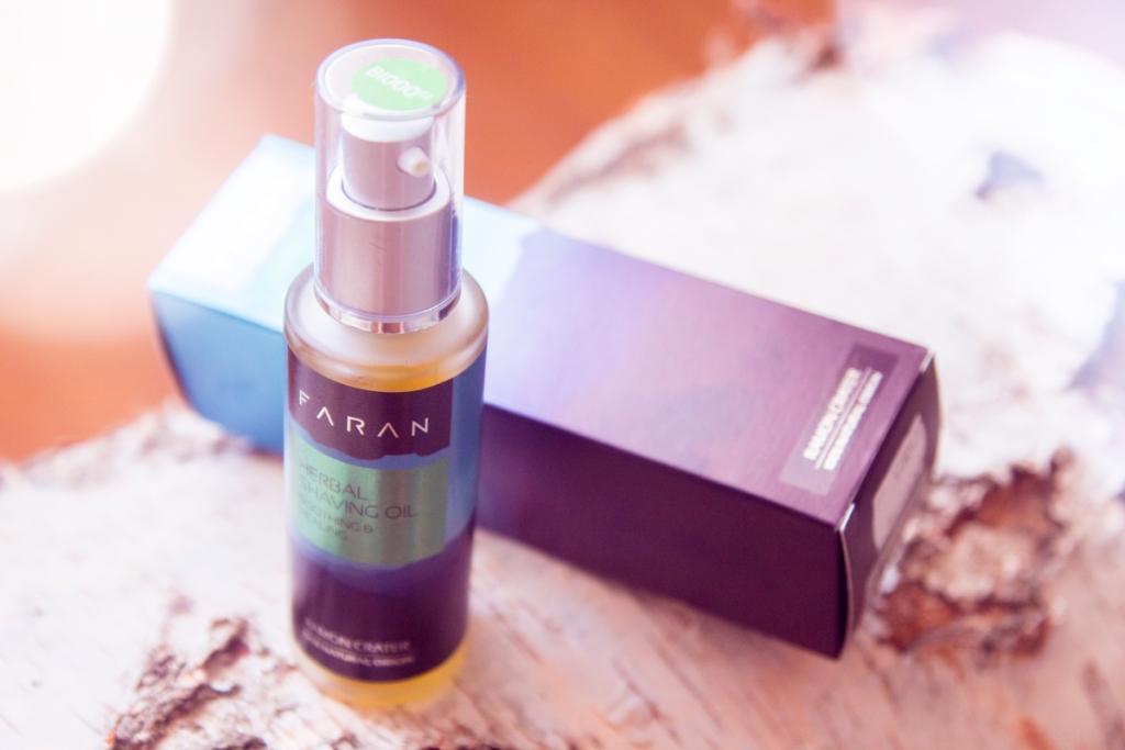 Recenze: Bylinný olej na holení pro velmi citlivou pleť Faran