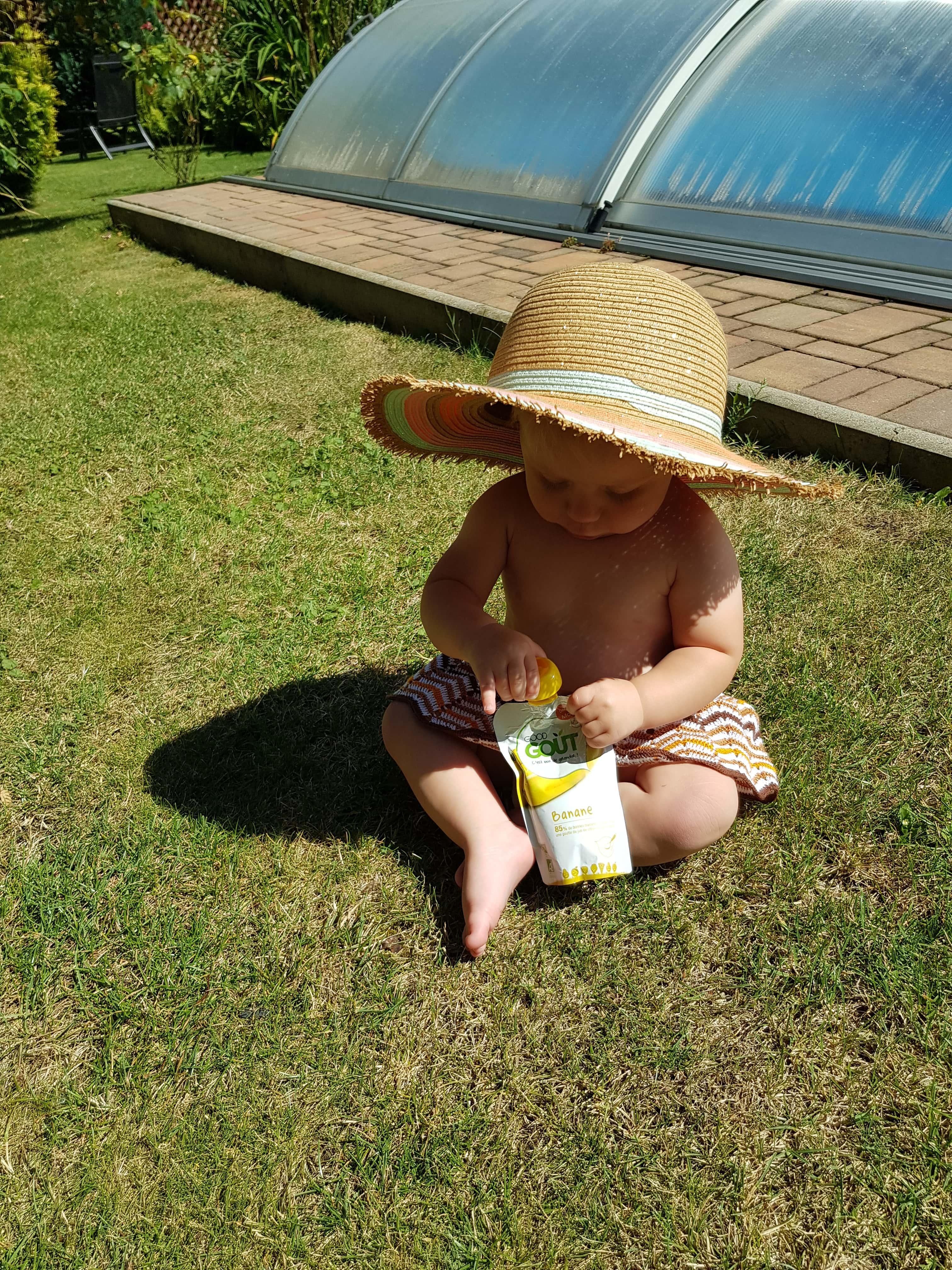 Dětská bio ovocná kapsička od Good Gout