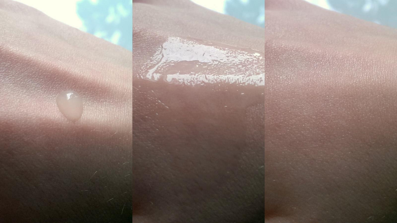 Hydratační gel Santa Verde má lehkou konzistenci a velice dobře se vstřebává.