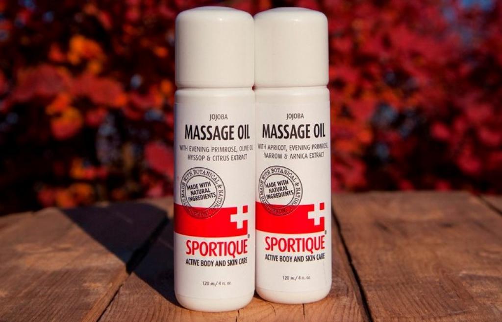 Recenze: Masážní olej Sportique