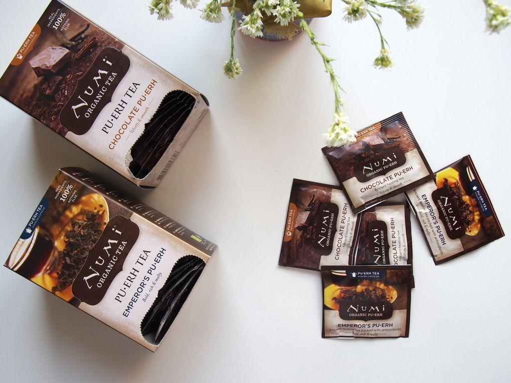 Recenze oblíbeného produktu: Puer čaj od Numi