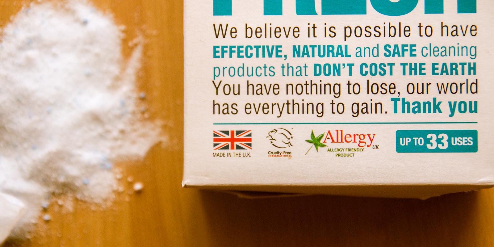 Recenze: Odstraňovač skvrn a dezinfekce (nejen) pro dětské pleny