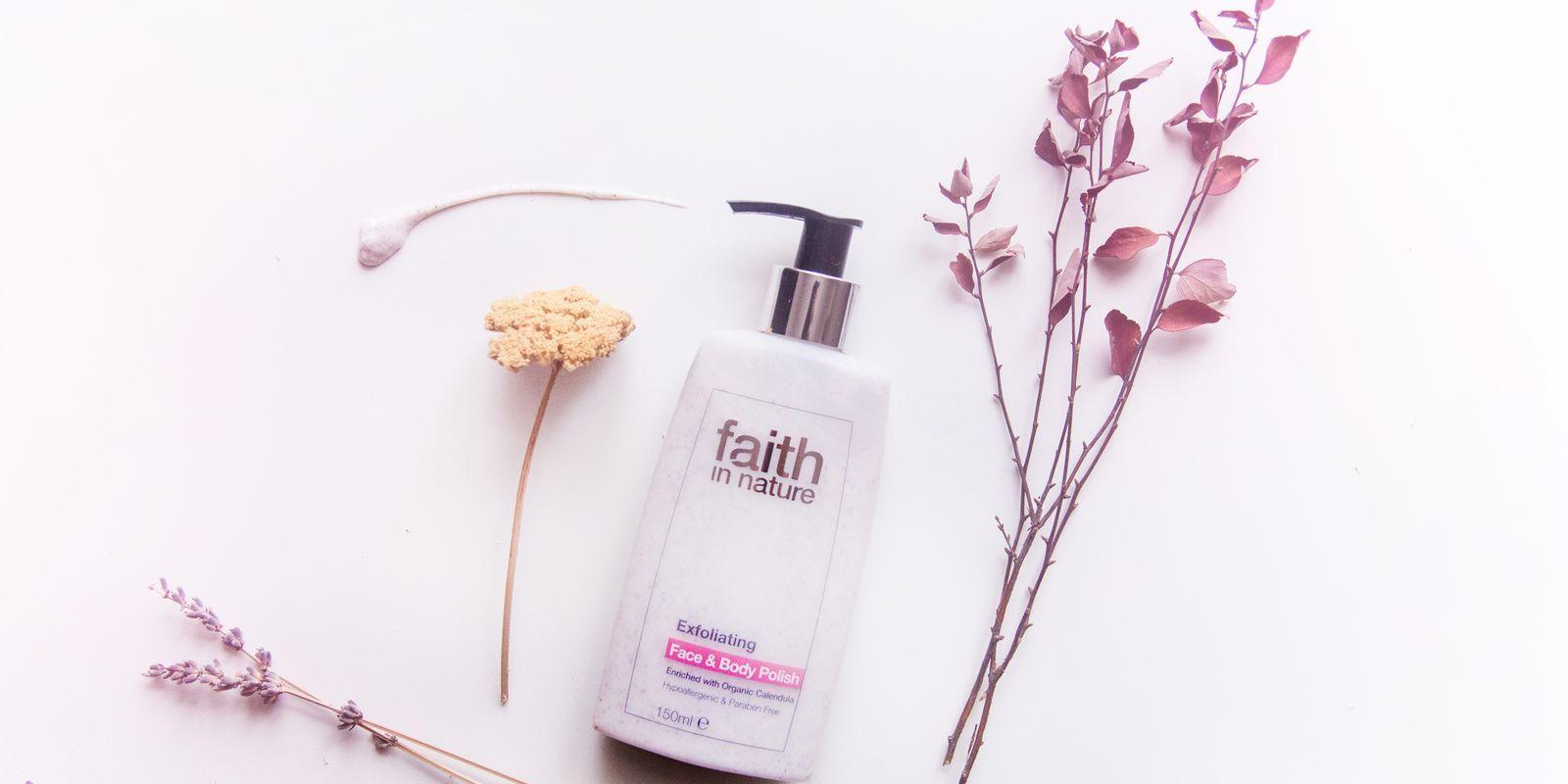 Recenze: Peeling na obličej a tělo Faith in Nature