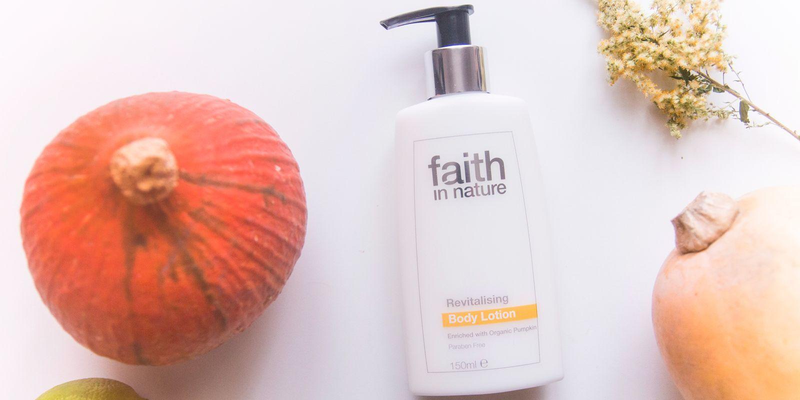 Recenze: Revitalizační tělové mléko Faith in Nature