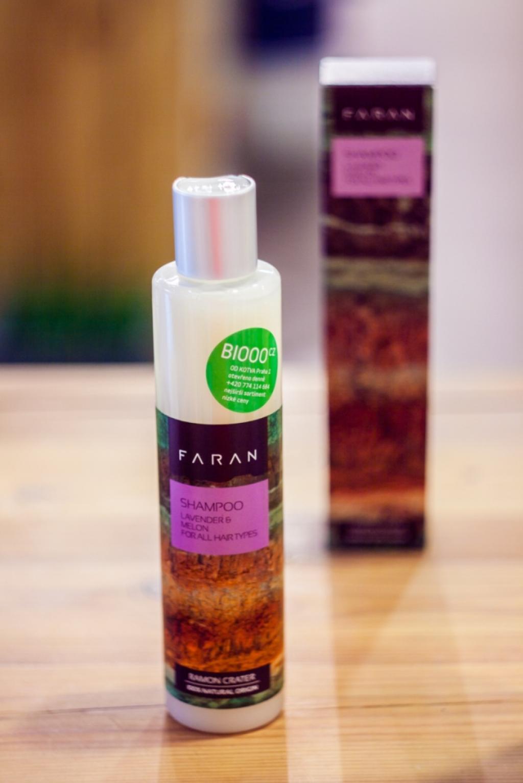 Recenze: Šampon Faran pro všechny typy vlasů (levandule- meloun)