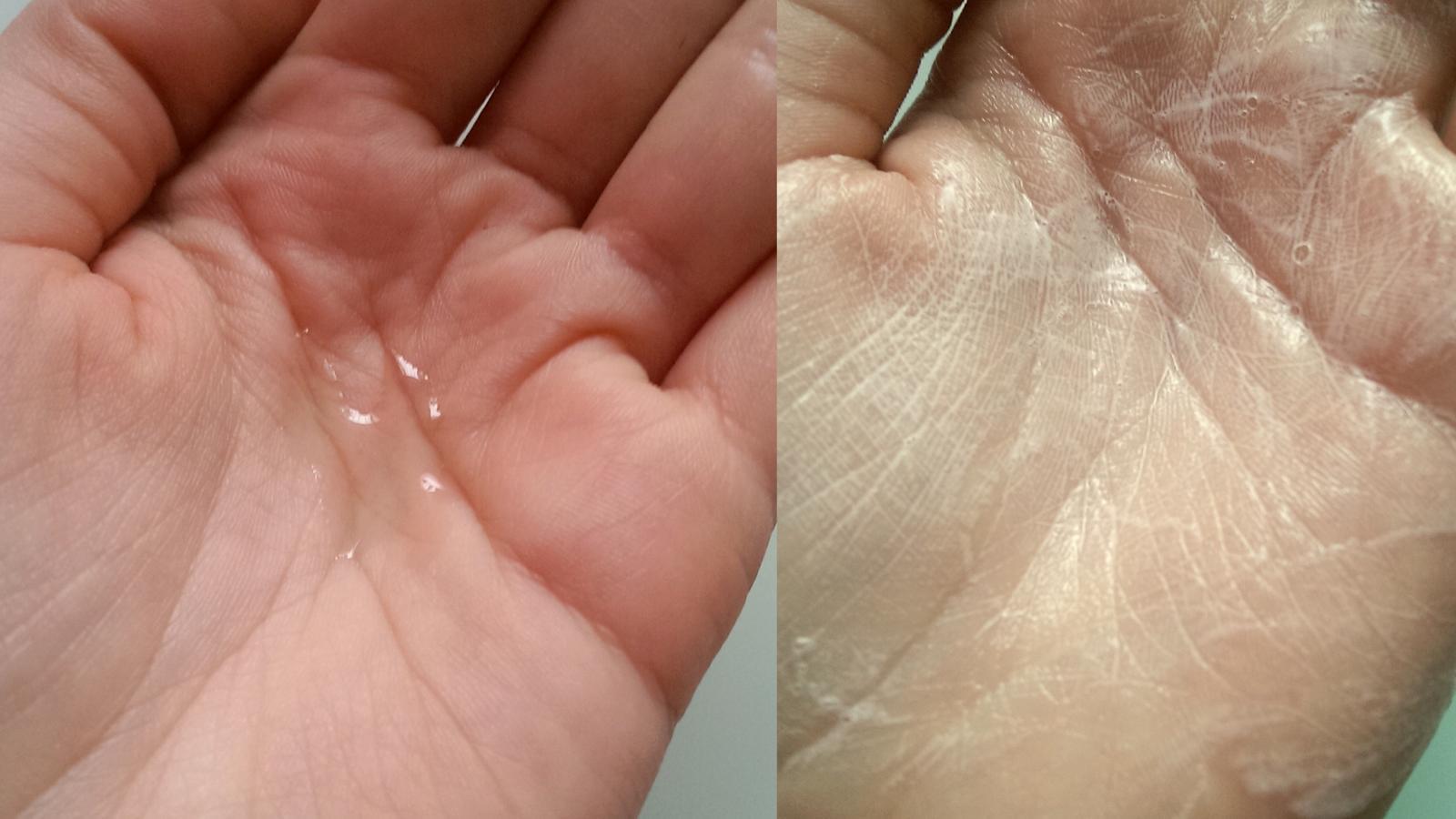 Tekuté univerzální mýdlo ALL ONE! vytvoří po namydlení jemnou pěnu.