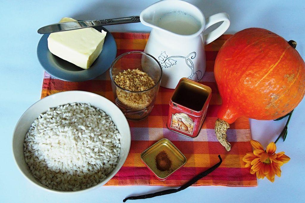 Sladká dýňová rýže