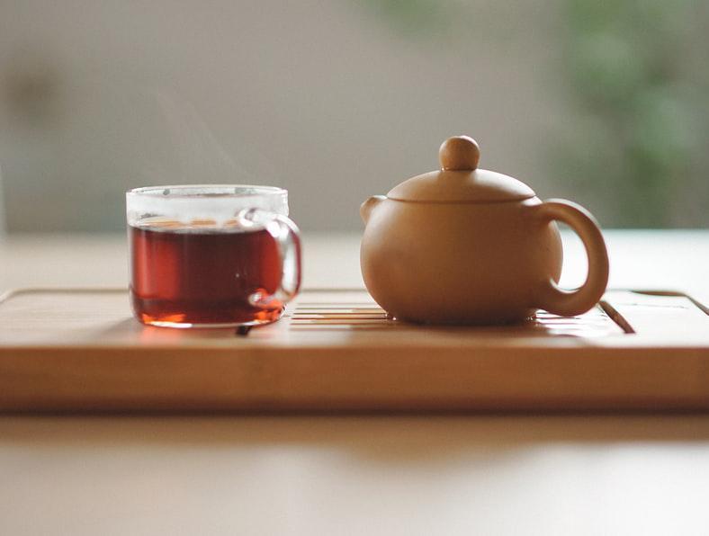 Šálek kvalitního čaje