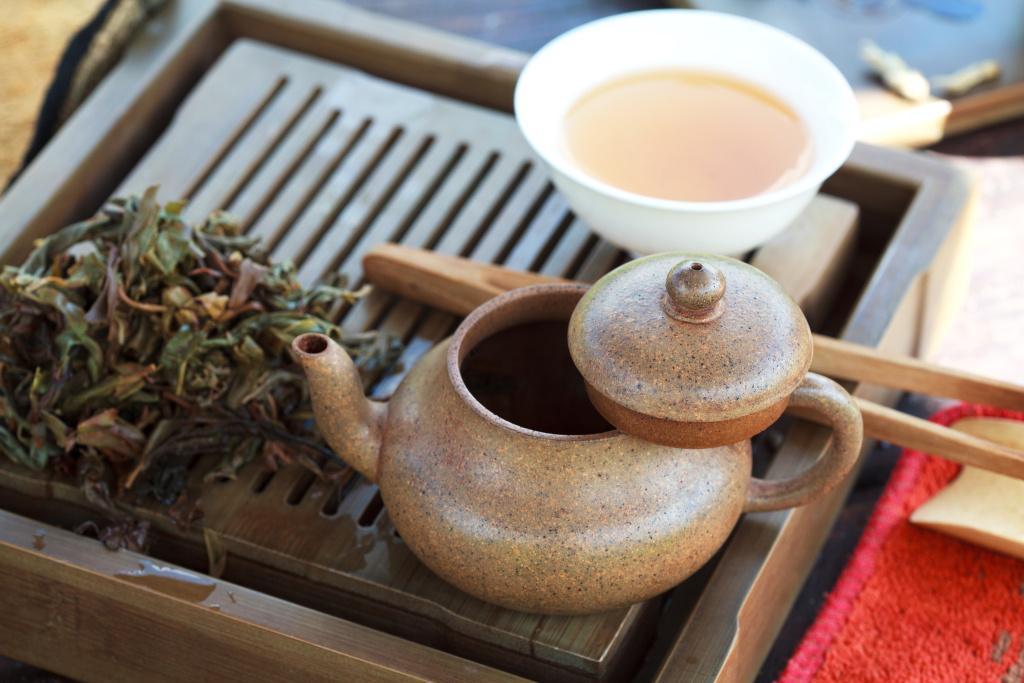 Zahřejte se čajem
