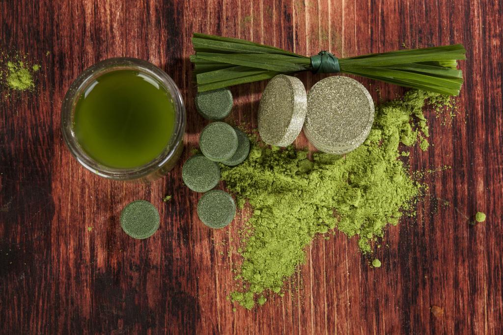 Zelené potraviny při detoxikaci