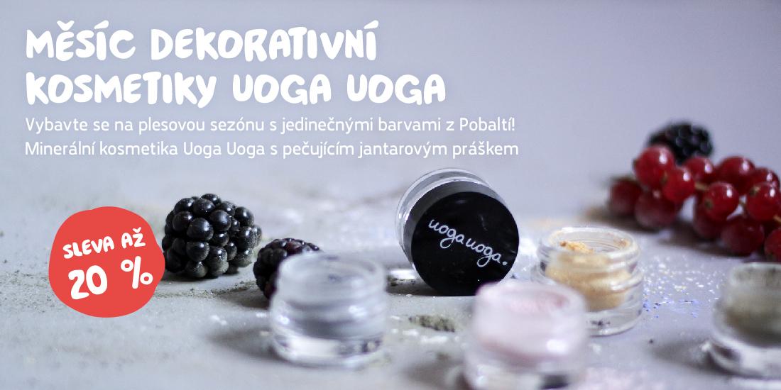 Měsíc dekorativní kosmetiky Uoga Uoga