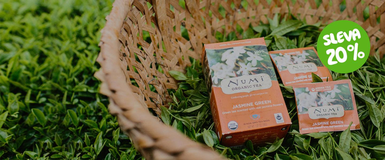 Voňavé čaje Numi