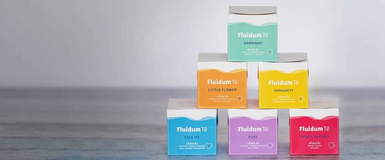 Fluidum Té - čajová revoluce & relax