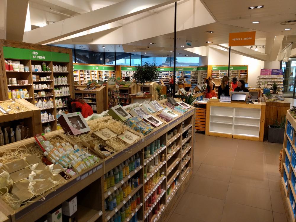 Rozšíření prodejny v OD Kotva, Praha