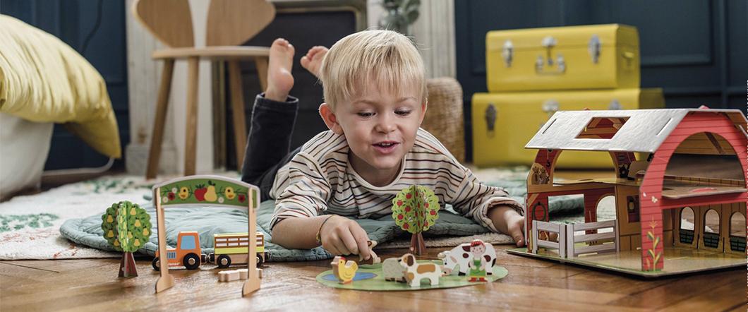 Designové dřevěné hračky Janod