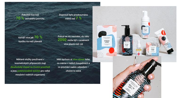 Produktová řada Ocean Love