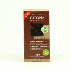 Logona Barva na vlasy, henna čokoládově hnědá 091 100 g