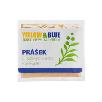 Yellow and Blue Prášek z mýdlových ořechů 100 g sáček
