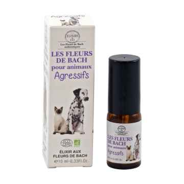 Les Fleurs de Bach Kombinovaná esence ve spreji agresivita pro zvířata 10 ml