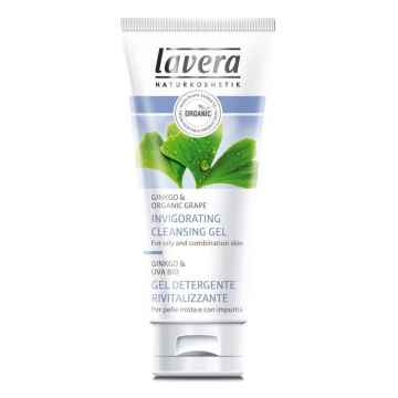 Lavera Čisticí gel Ginkgo & Hrozen, Faces 100 ml