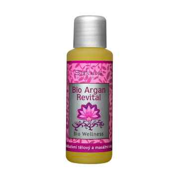 Saloos Masážní olej argan revital, Wellness 50 ml