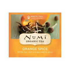 Numi Organic Tea Bílý čaj Orange Spice 2,8 g, 1 ks
