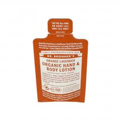 Dr. Bronner´s Tělové mléko Orange-Lavender 5 ml