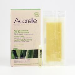 Acorelle Depilační proužky na tělo 20 ks