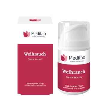 Zklidňující krém s kadidlem, Meditao 50 ml