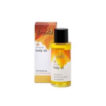 Farfalla Tělový olej Pozdrav slunci 80 ml