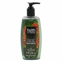 Faith in Nature Tekuté mýdlo Aloe Vera & Tea Tree 300 ml