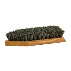 Redecker Čisticí kartáč na boty z dubového dřeva, hrubý 1 ks, 19 cm