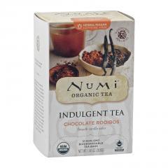 Numi Čokoládový čaj Rooibos, Indulgent Tea 12 ks, 39,6 g