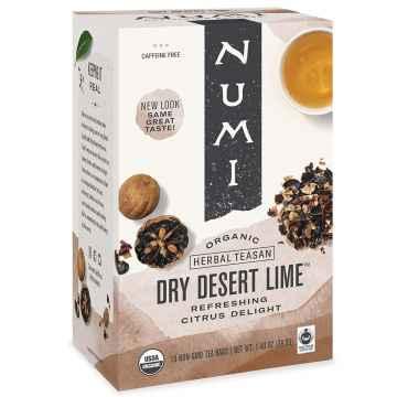 Numi Organic Tea Dry Desert Lime, bylinný čaj 39,6 g, 18 ks