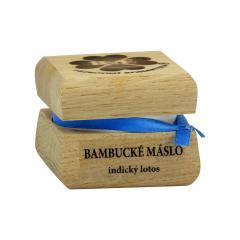 RaE Bambucké tělové máslo s vůní indického lotosu 50 ml