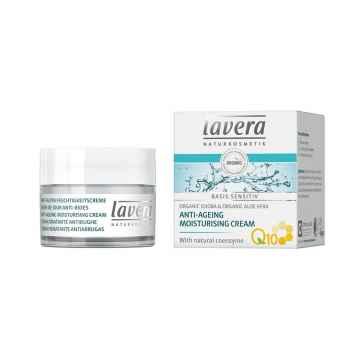 Lavera Krém hydratační Q10, Basis Sensitiv 50 ml