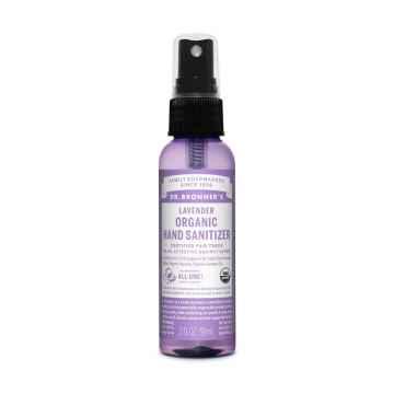 Dr. Bronner's Bezoplachový čisticí sprej na ruce Lavender 59 ml