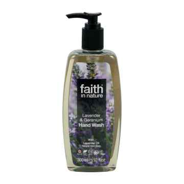 Faith in Nature Tekuté mýdlo levandule & pelargonie 300 ml