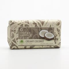 Desert Essence Tuhé mýdlo krémový kokos 142 g