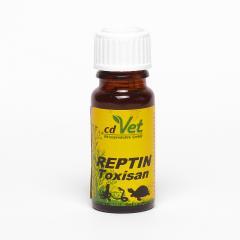 CdVet Čistič orgánů intenzivní, Toxisan Reptin 10 ml